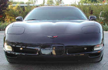 C5 Corvette full front view.