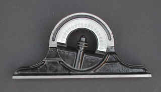 Protractor head by Starrett.